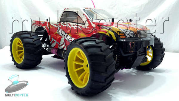 Automodelo nitro 1:10 HSP Monster Truck 4x4