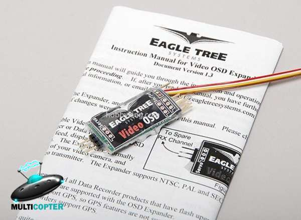 FPV OSD Eagle Tree Video OSD Expander V1
