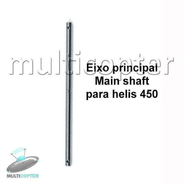 Main Shaft Eixo Principal HK 450 Trex Copterx Titan Part # F021