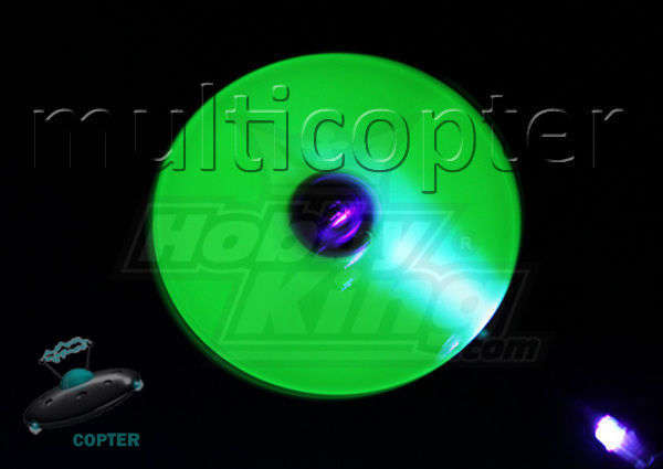 Night Flight FlyBar Paddles Tail Rotor heli 450 Trex HK LED