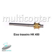Eixo Traseiro Tail Rotor Shaft Part # F032 HK 450 Titan Trex