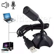Microfone USB Para Youtuber Estúdio Speech Pc Computador Notebook Laptop